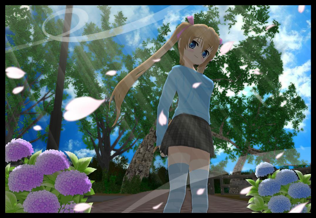 A Walk Through the Park~ by ReiUsagi