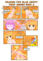 Orange You Glad About That Juice? ~ TG Story P4 by ReiUsagi