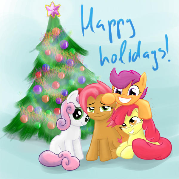 Happy Holidays! by RandomDash