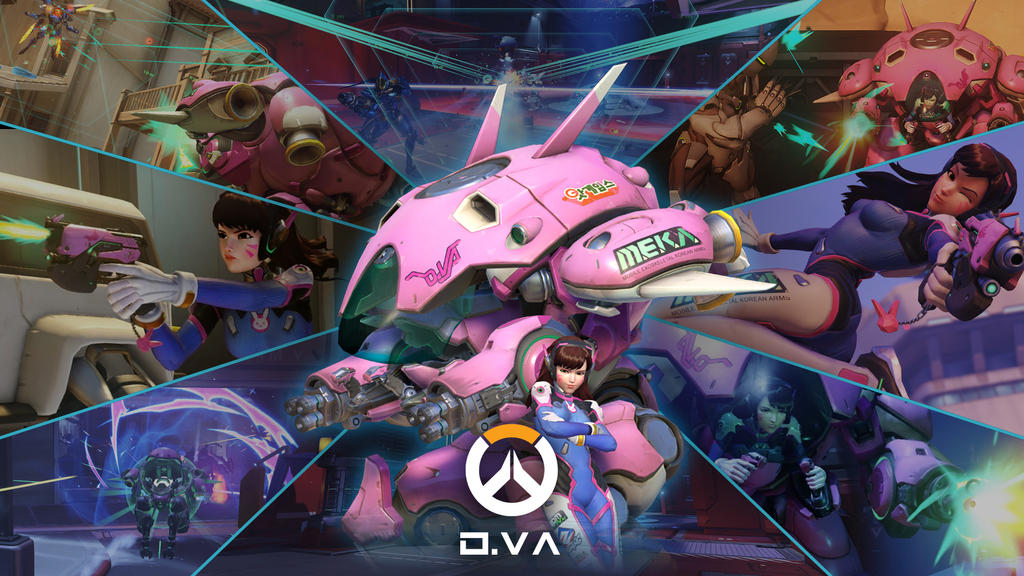 Overwatch unofficial wp dva by psychaoticnetwork on - Overwatch dva wallpaper ...