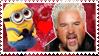guy fieri x minion stamp by gayhipsterfurry