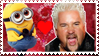 guy fieri x minion stamp by gayhipsterfurry