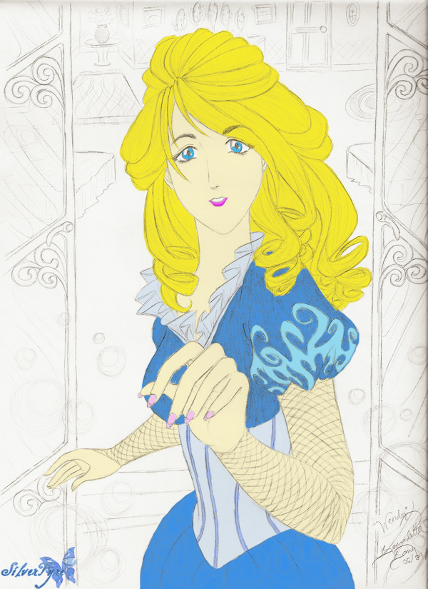 Colored:Wendy Darling by bloodyblue