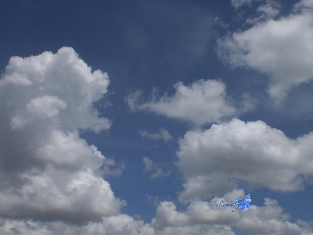calm sky by bloodyblue