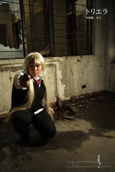 Gunslinger Girl: Triela V by bloodyblue
