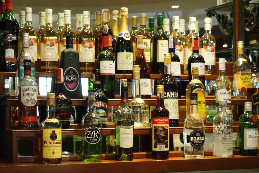 bottles by bloodyblue