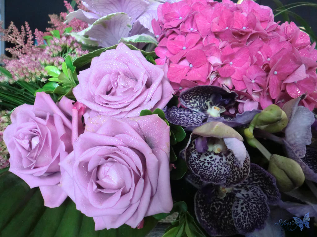 bouquet by bloodyblue