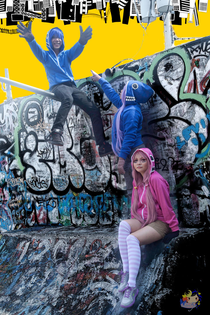 Vocaloid Cosplay: Matryoshka Group 3 by bloodyblue