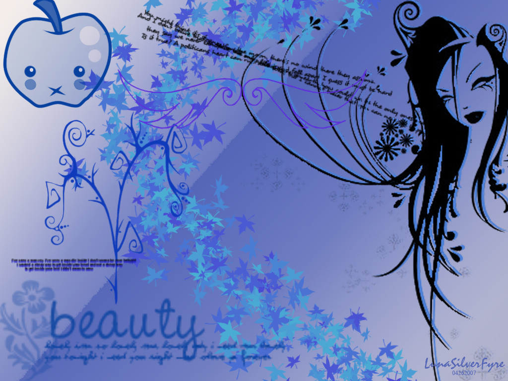Beauty in Blue by bloodyblue