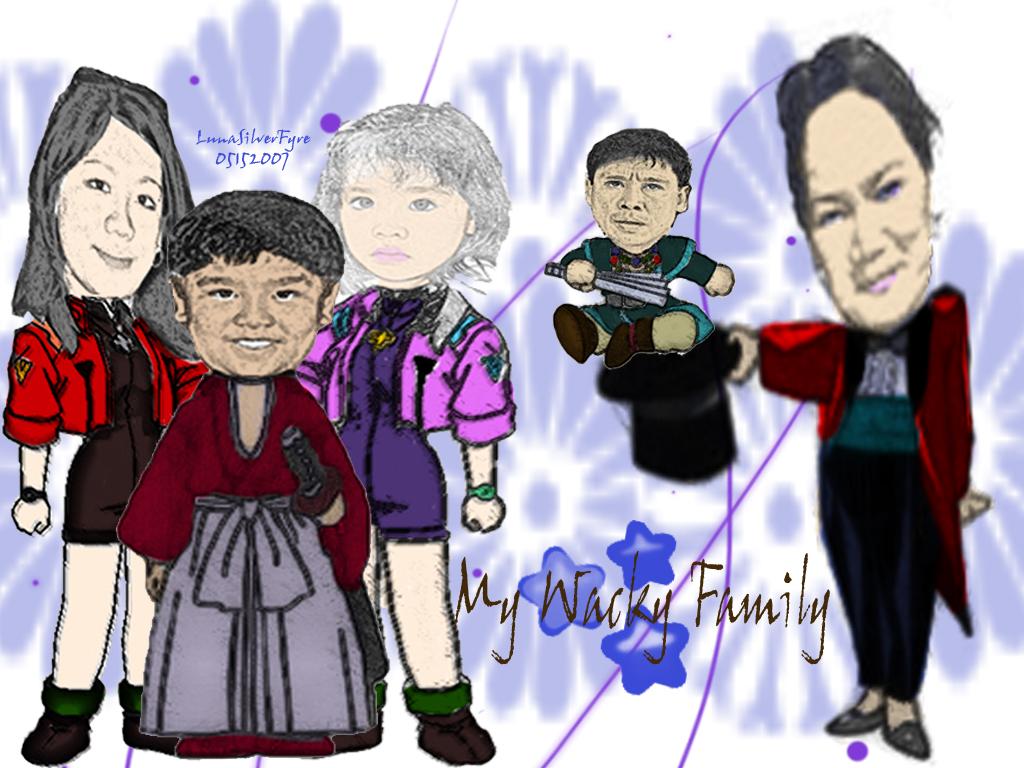 My Wackl Family by bloodyblue