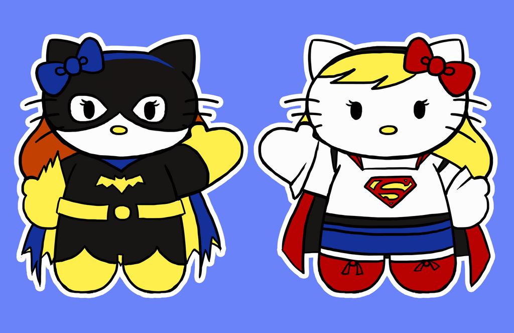 Hello Kitty Hello DC by Tevokkia