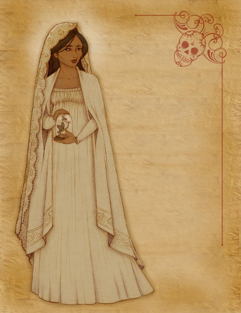 Priestess of the Dead by Tevokkia