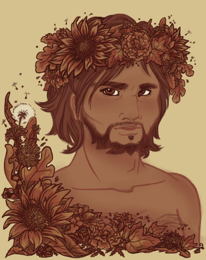 Language of Flowers by Tevokkia