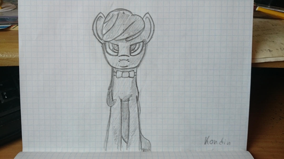 Octavia portrait (sketch) by kondin