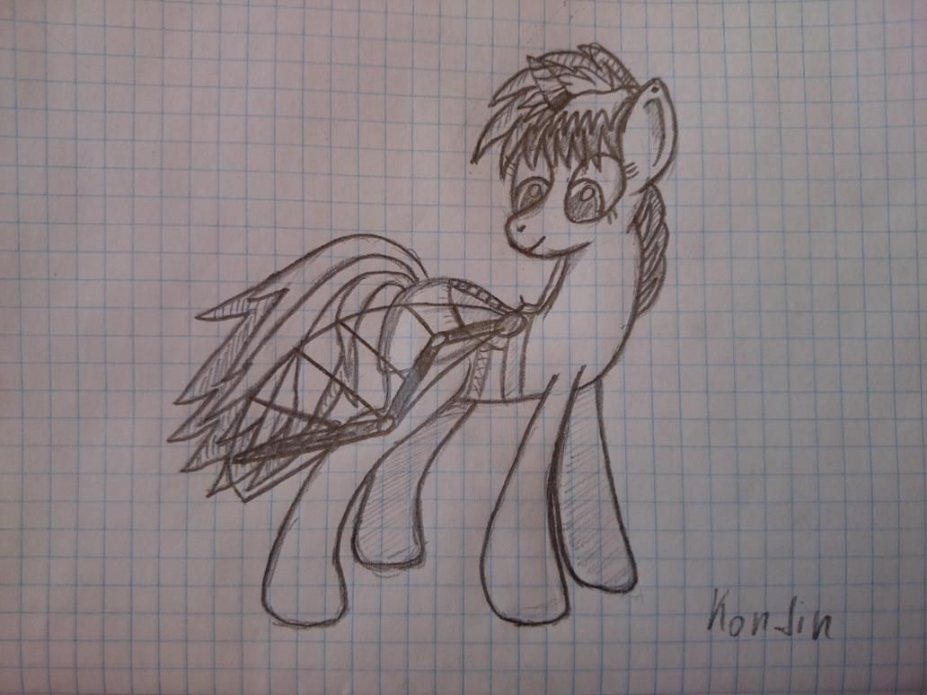 Maggie sketch2 by kondin