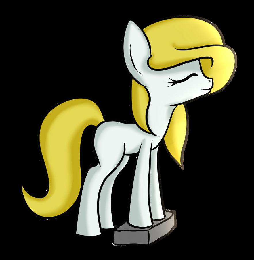 Blonde Pony by kondin
