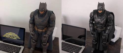 Jakks Pacific Batman V Superman Armored Batman by sunnysighup