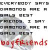 Diamonds are... by TwilightsEdward