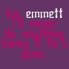 For Emmett by TwilightsEdward