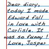 Jaspers Diary by TwilightsEdward