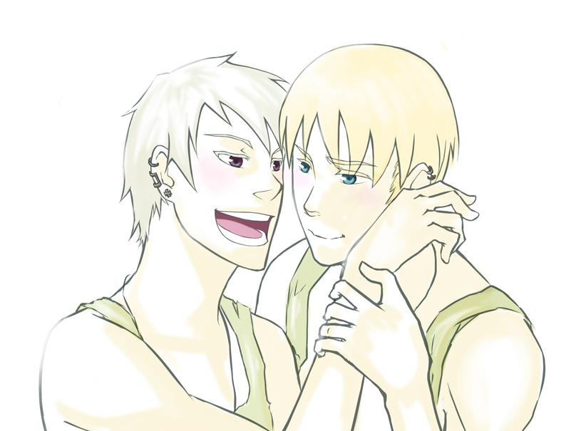 Hetalia:Gilbo and Lud by Neko6