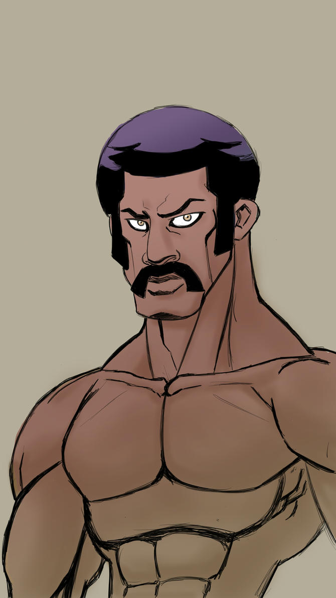 Black Dynamite  by MustacheMayhem