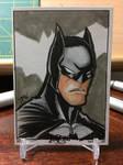 Inktober Day 2 - Batman