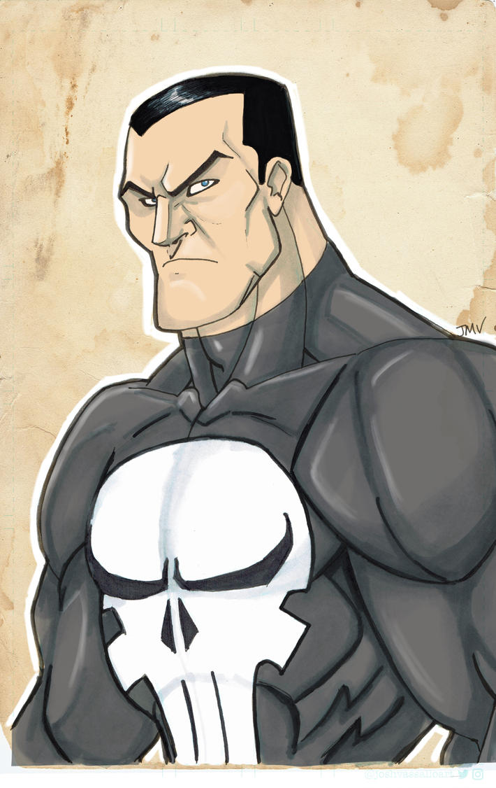 Punisher by MustacheMayhem