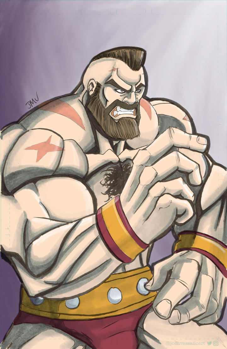 Zangief by MustacheMayhem