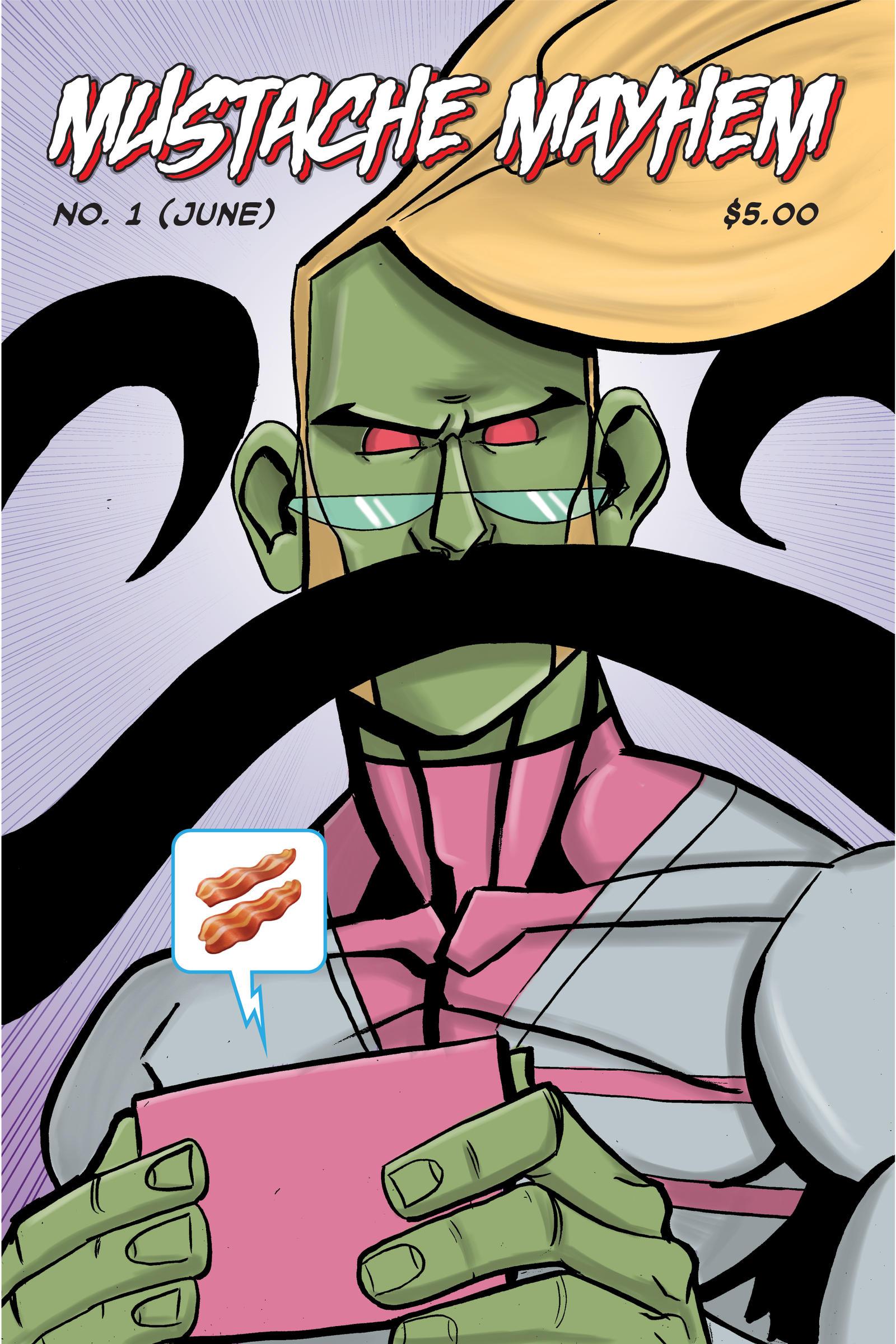 Mustache Mayhem!