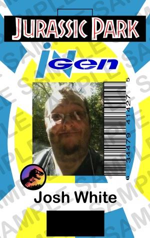 my jurassic park id card by irishwolf8504