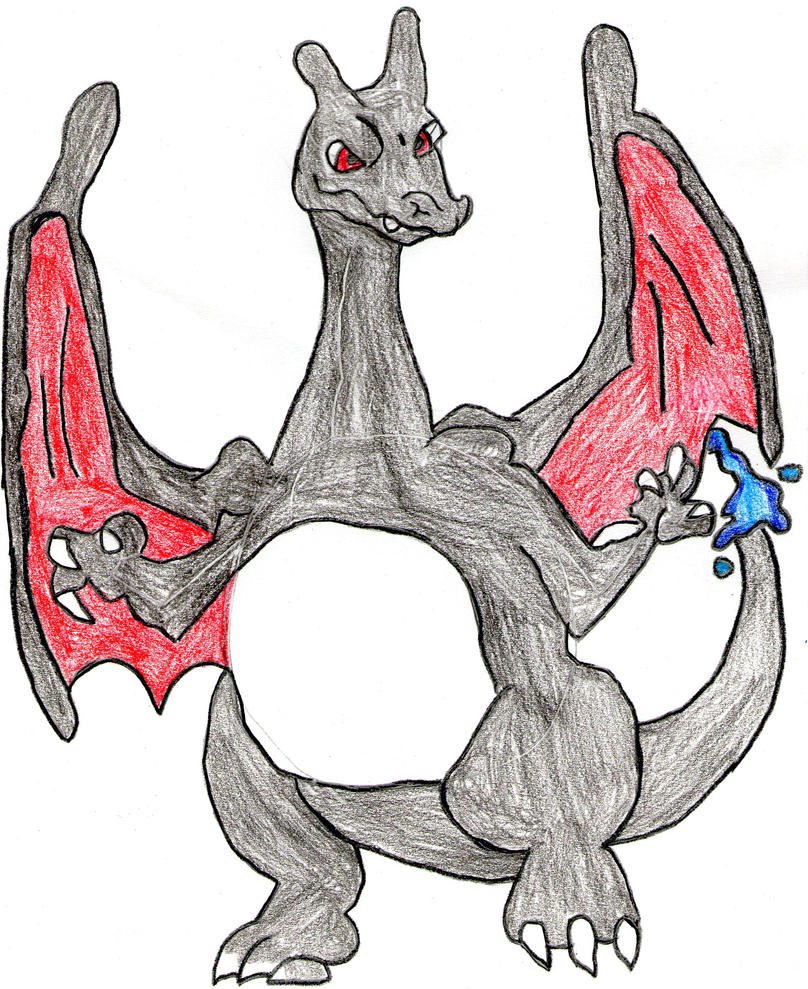 Your very own art - Page 17 Shiny_charizard_by_shardrockslikeabawss-d5388d6