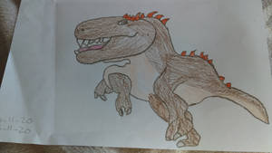 Paleovember 4. Charcharodontosaurus