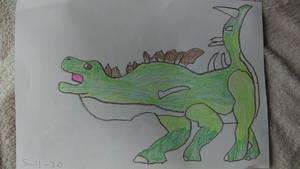 Dinovember 5. Kentrosaurus