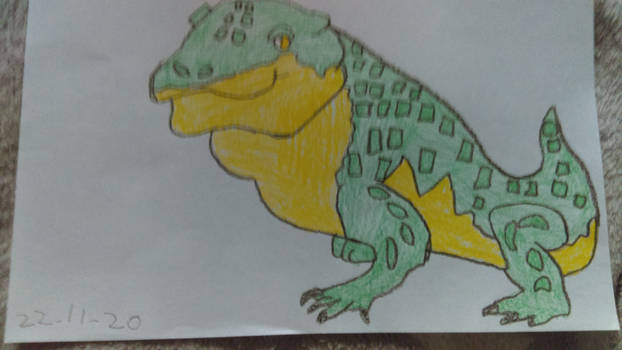 Paleovember 22. Simosuchus