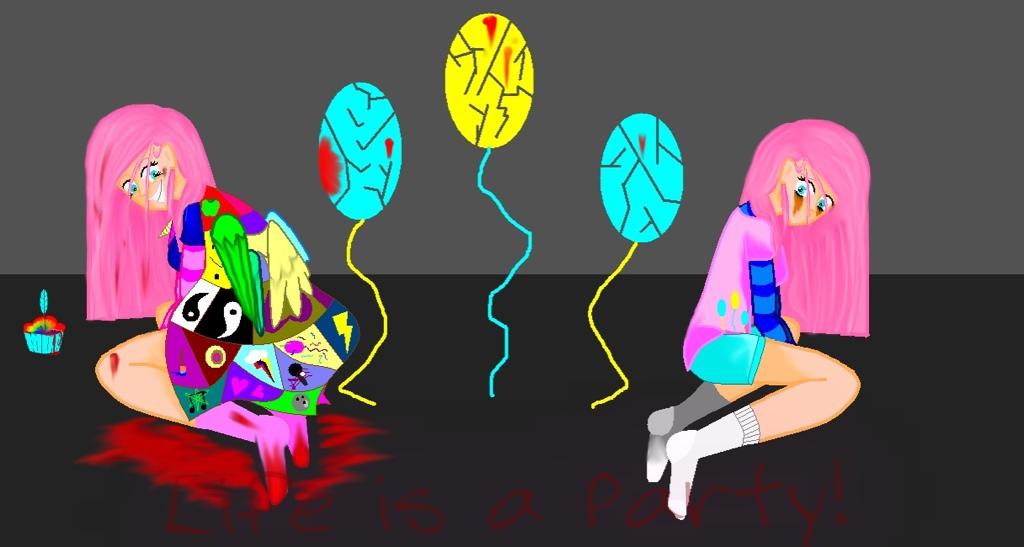 Pinkamena Diane Pie/ Cupcakes by PaintersxSecrets on DeviantArt   1024 x 547 jpeg 128kB