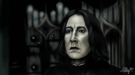 Severus + Speed Painting by LillyTalent