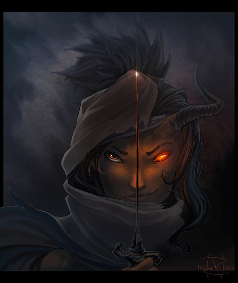 The Hider by Art-Zealot