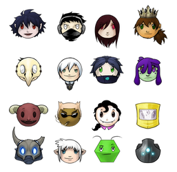 Competitor Icons by Art-Zealot