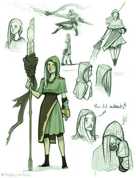 The Witch of Avalon (concepts)