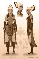 Zelda Redesign (Sacred Hand) by Art-Zealot