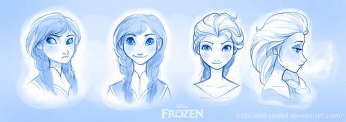 Frozen Sketches by Art-Zealot