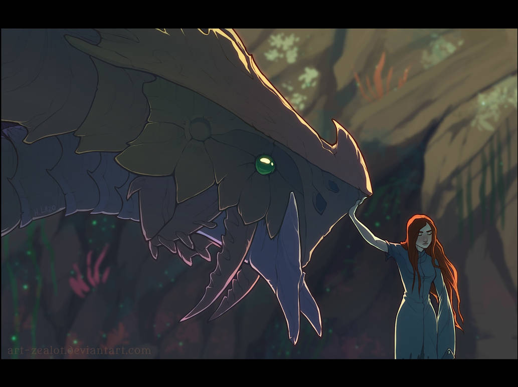 How to Train Your Chasmfiend by Art-Zealot