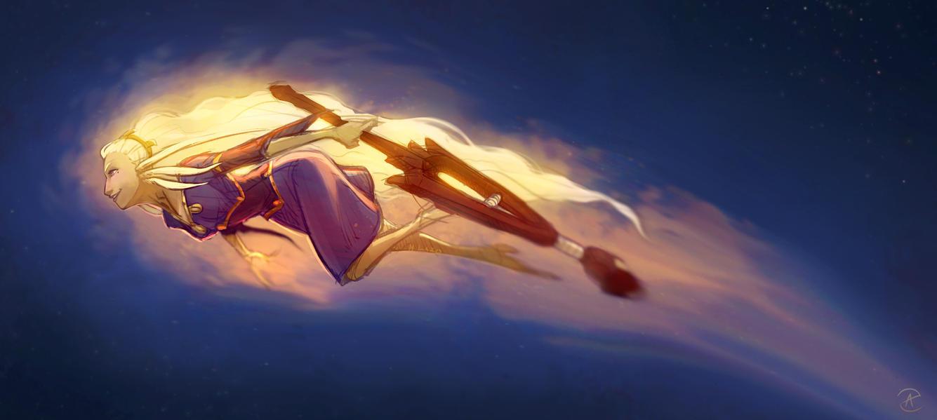 Falling Star by Art-Zealot