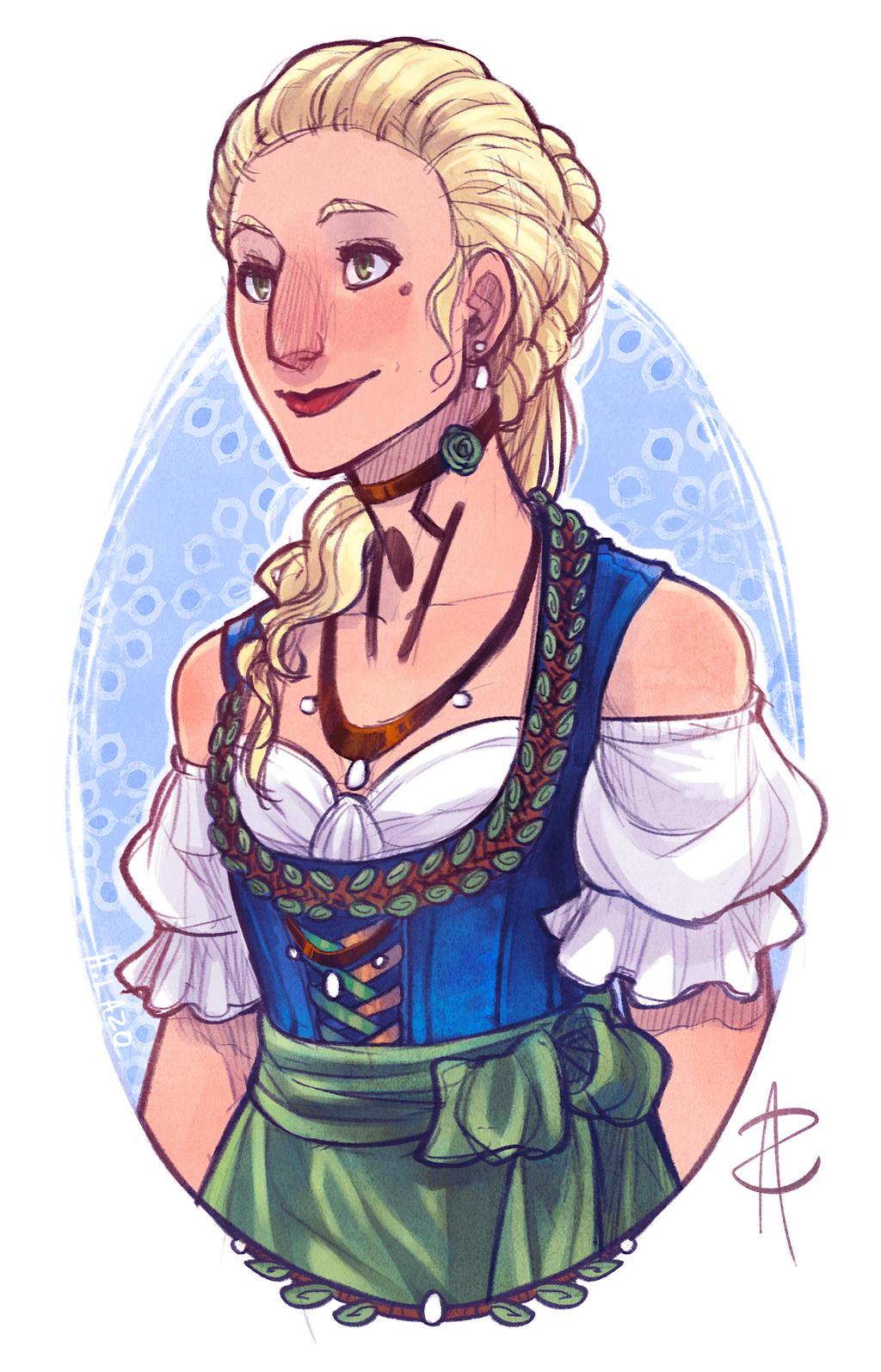 Die Ministerin von Ambrotos by Art-Zealot