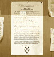 Sybal Heim: The Civil Affairs Commission by Art-Zealot