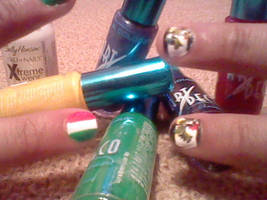 PruIta flag nails