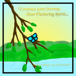 The Fluttering Spirit by Lizthewolflover