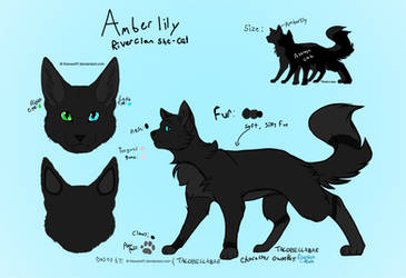 Amberlily Ref by Lizthewolflover