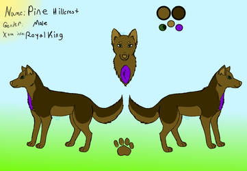 King Pine Hillcrest by Lizthewolflover